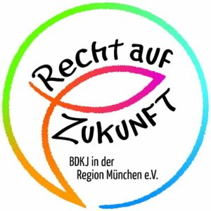 Logo BDKJ Recht auf Zukunft
